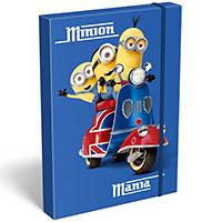 Minions füzetbox - A5 - Minions London