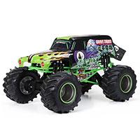 New Bright Monster Jam RC távirányítású autó 1:24 - Grave Rigger