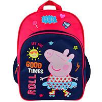 Peppa Malac - Peppa malac nagy ovis hátizsák - 32x25 cm - piros pink ... 45b62998f5