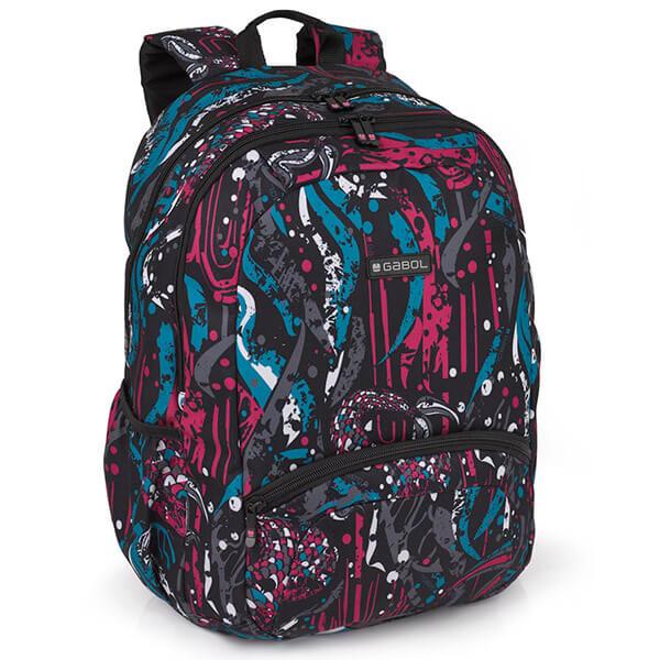 64bc29da433b Hátizsákok felsősöknek - Gabol Splash iskolai hátizsák - 25 literes ...